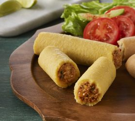 Beef with Mild Jalapeño Cheese Tamales